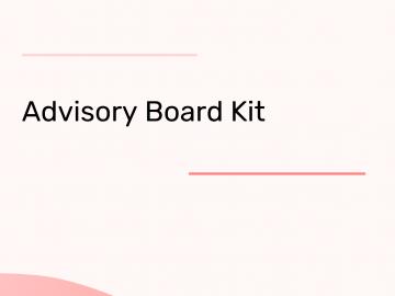 Advisory Board Kit
