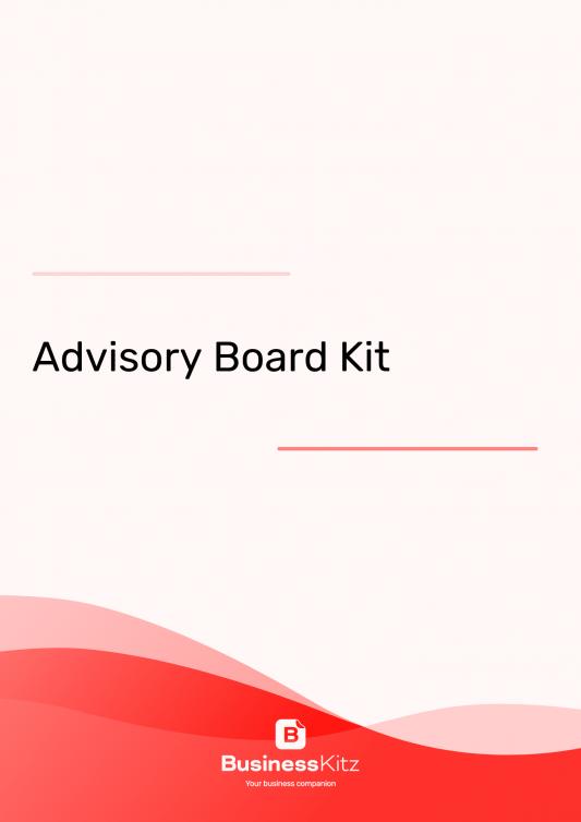 Advisory Board Documents Kit
