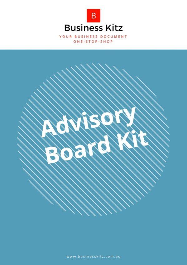 business management advisory organization structure procedure
