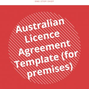 license premise agreement Australian template