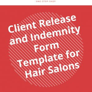 policy client terms conditions release indemnity compensation form template