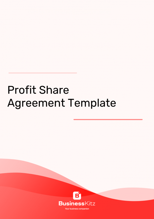 Profit Sharing Agreement template