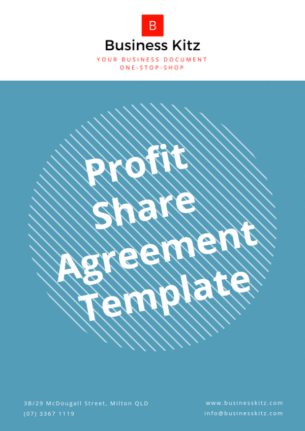 Profit Share Agreement Template by Business Kitz