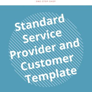 service provider customer relationship business management scope coverage template