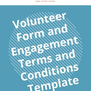 volunteer engagement hiring terms conditions business management staff form template document