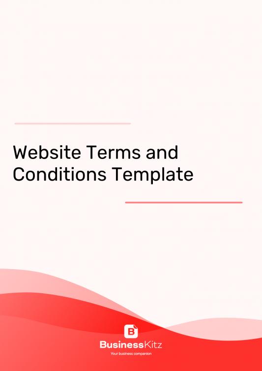 Website T&Cs Template
