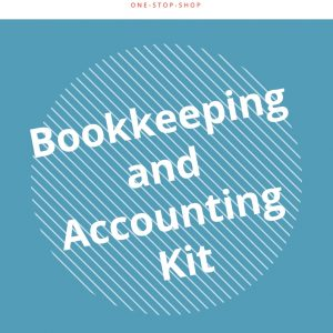 bookkeeping accounting business finance DIY management procedure document guide template