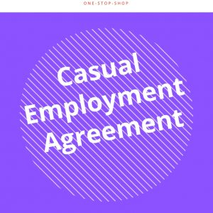 business kitz human resources casual employment HR template document agreement
