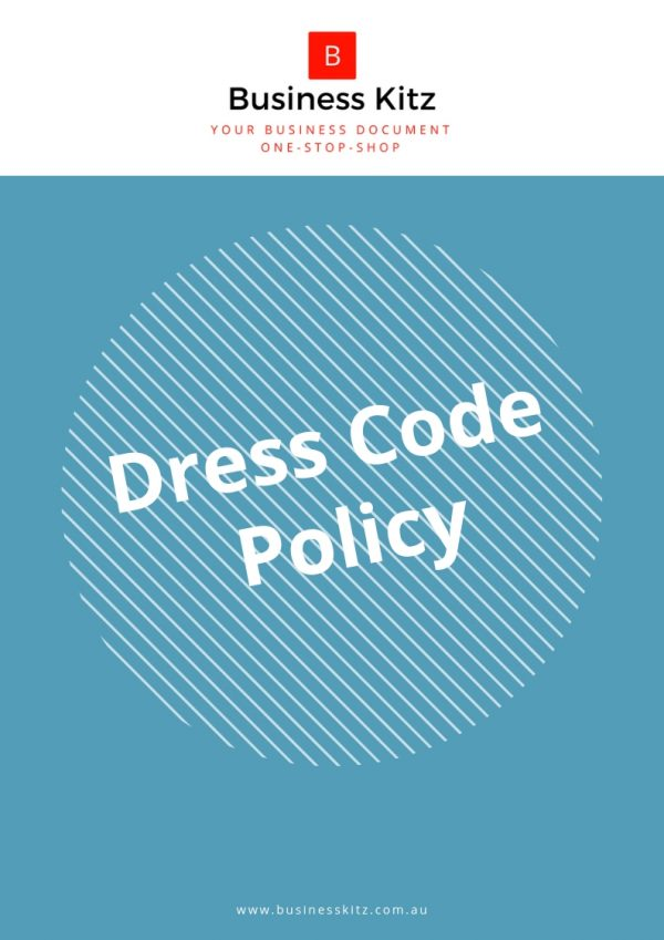 attire dress code workplace appropriate business management employee policy