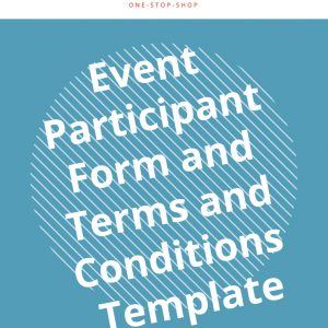 event participation engagement form template business document
