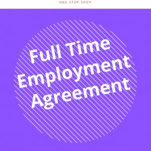 business kitz human resources full-time employment HR template document agreement