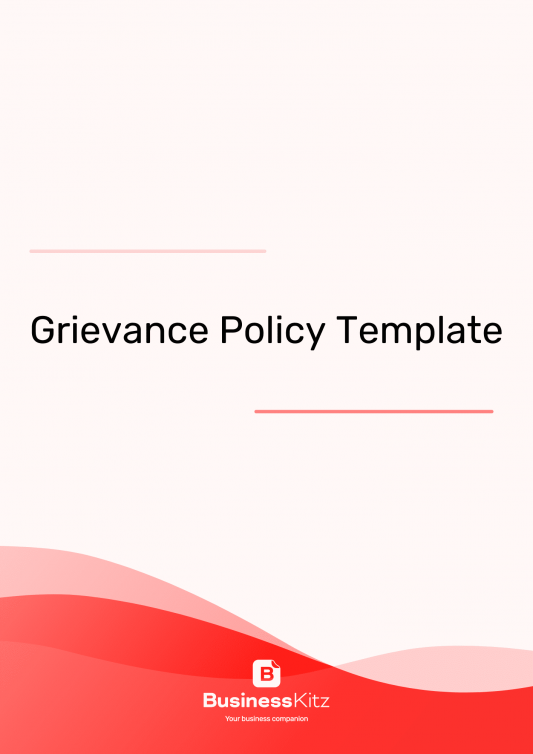 Employee Grievance Policy Template