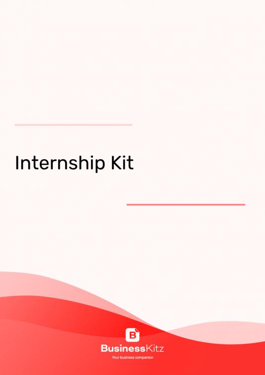 Business Internship Kit