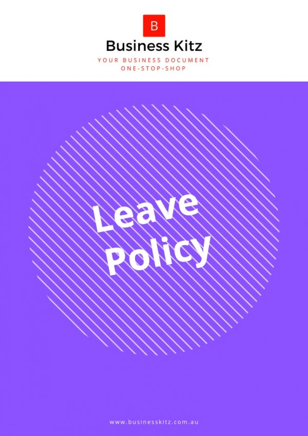 leave policy employee management policy business