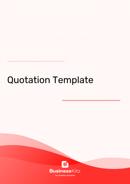 Quotation Template