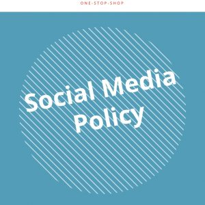 social media online marketing business management policy