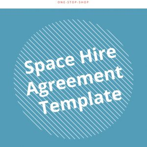 space hire event hosting business management scope content agreement template