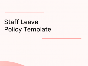 Leave Policy Template