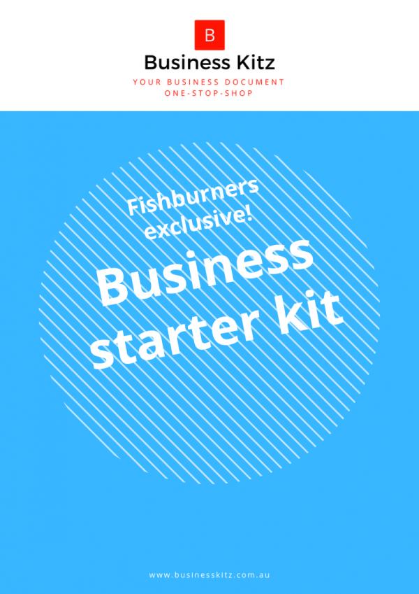 Fishburners deal - Business starter kit