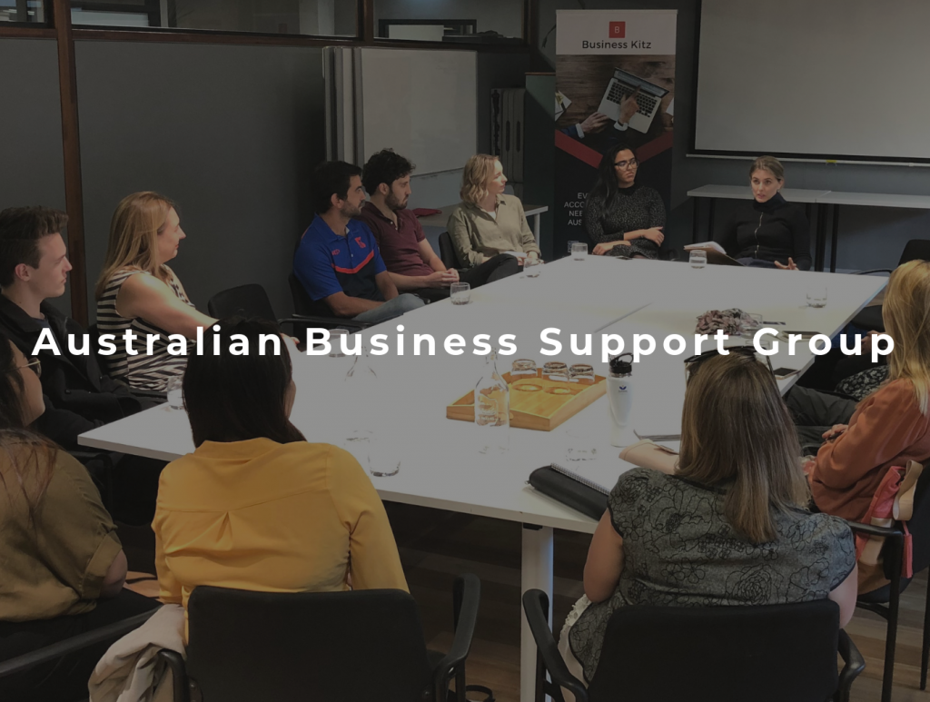 Meetup of the Australian Business Support Group in River City Labs, Brisbane.