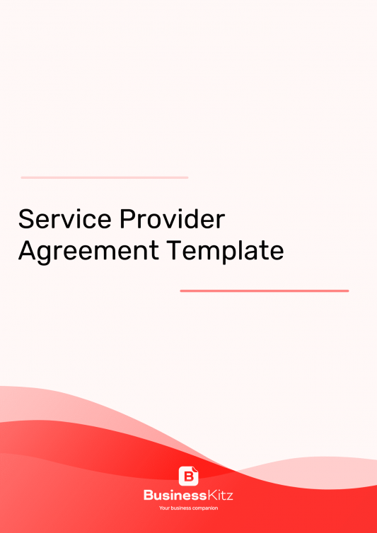 Service Provider Agreement (for businesses)