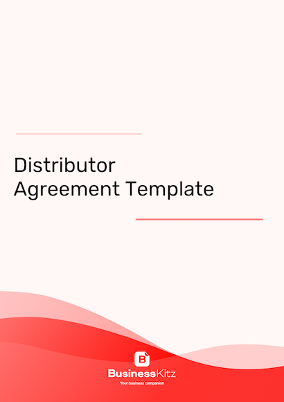 distributor agreement format